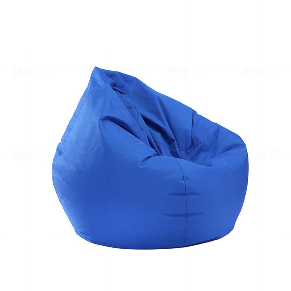 Image 5 - Adeeing Waterproof Stuffed Animal Storage/Toy Bean Bag Solid Color Oxford Chair Cover Beanbag(filling is not included)-in Bean Bag Sofas from Furniture