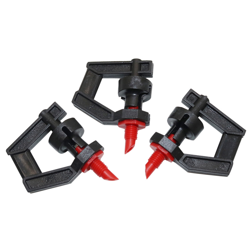 100 Pcs Refract G Type Rotating Nozzle 360 Degree Refraction Watering Sprinklers Garden Irrigation Lawn Sprayed Fittings