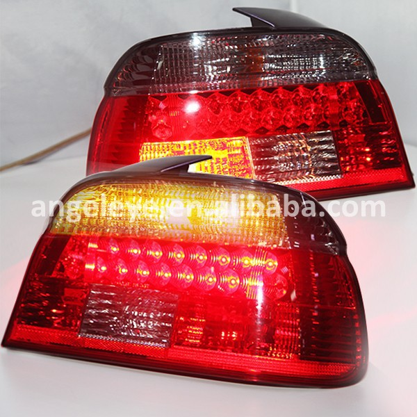 For BMW E39 5 Series 528i 540i LED Rear Lamp Red Black Color 1995-2003 year LF