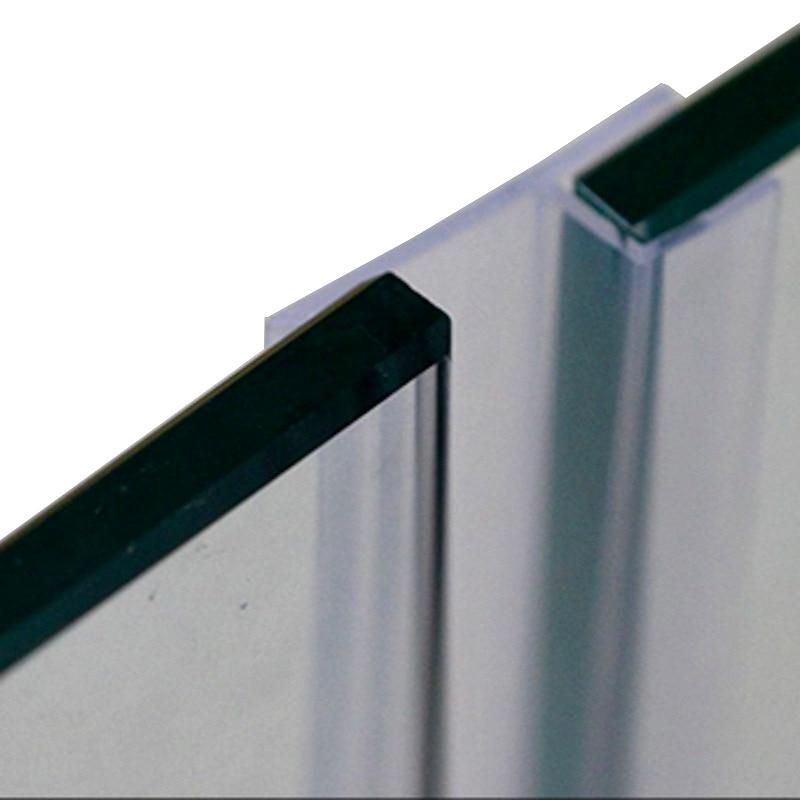 ᗐ6 8 10 12mm sellos de vidrio sin marco puerta de la ducha ventana ...