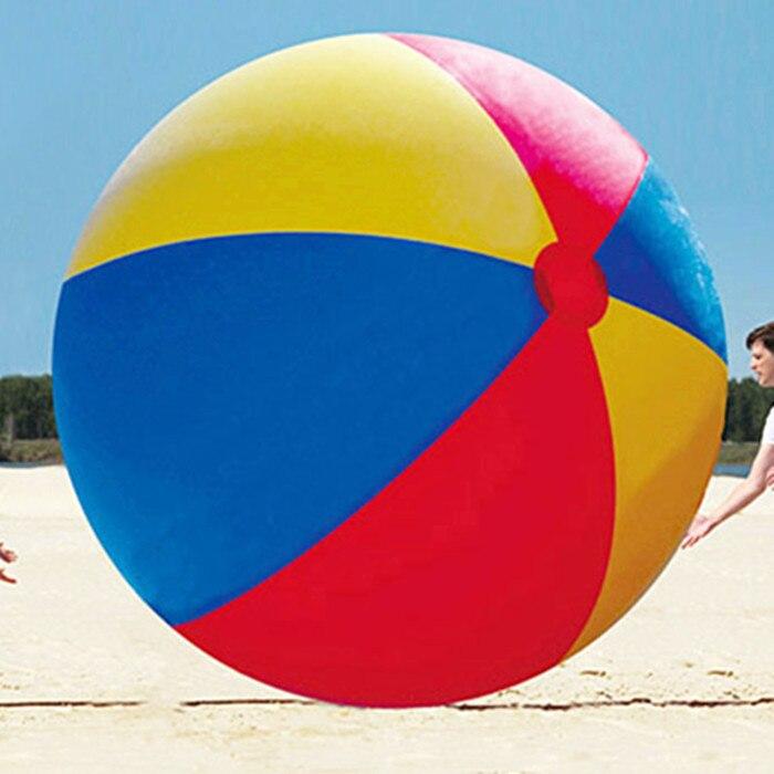 Бесплатная доставка 2,5 м гигантский пляжный мяч надувной для игр