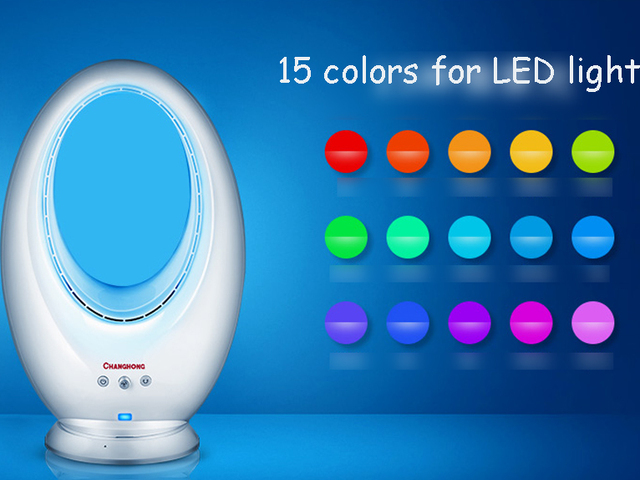 2016 Zeitlich Begrenzte Fan 220 V Marke Qualität Elektrische Haushalts  Blatventilator Mit Led Licht 15