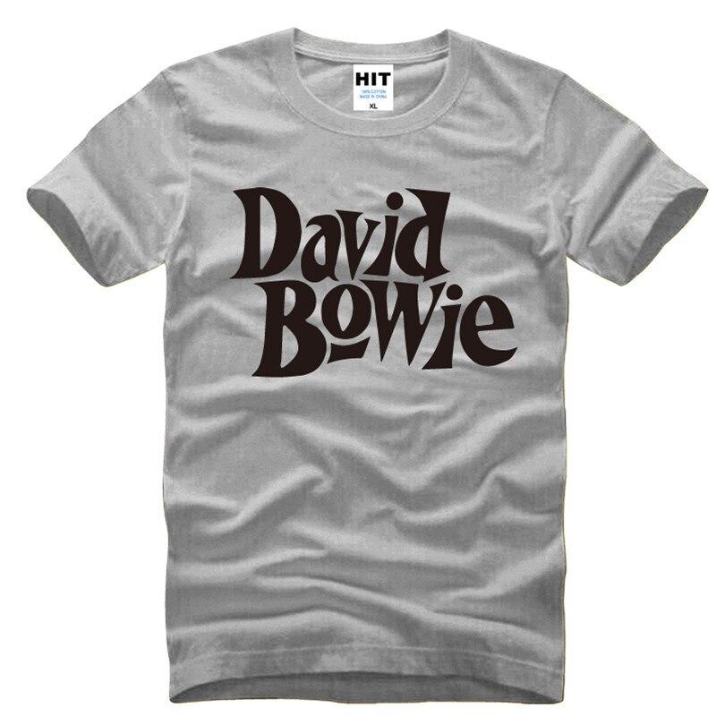 David Bowie Rock Music Memorial Männer T-Shirt T-Shirt Männer 2016 - Herrenbekleidung - Foto 4