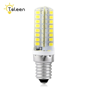 TSLEEN Mini 3W W 5W 7W 220V LED Lamp E14 E12 B15 LED Corn Bulb SMD2835 360 Beam Home Decoration Lamp for Chandelier Spotlight