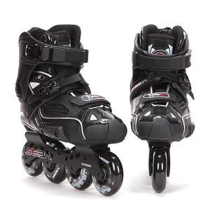 Image 3 - اليابانية سكيت 100% الأصلي سيبا عالية ديلوكس HD الكبار حذاء تزلج بعجلات الأسود الأسطوانة أحذية التزلج Slalom الشريحة FSK Patines الكبار