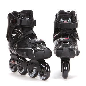 Image 3 - Japy paten 100% orijinal SEBA yüksek lüks HD yetişkin tek sıra tekerlekli paten siyah rulo kayak ayakkabıları Slalom slayt FSK Patines Adulto