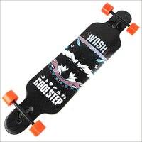 Professional Canadian Maple Longboard Cruiser Skateboard Skate Board 4 Wheel Downhill Street Long Board Road Deck