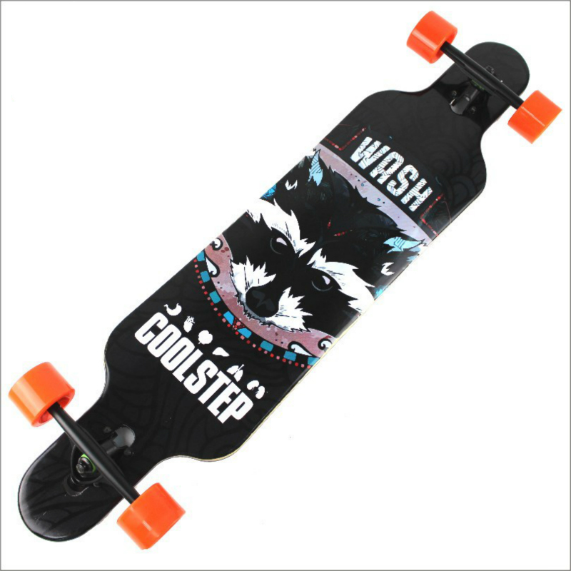 Professional Canadian Maple Longboard Cruiser Skateboard Skate Board 4 Wheel Downhill Street Long Board Road Deck Driftboard гульназ резванова зимняя весна первая книга о любви наивная