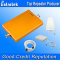 New Arrival GSM Repeater 900 1800 Amplifier Booster GSM 900 DCS 1800 mhz Lintratek Dual Band Signal Booster Full Kits Wholesale