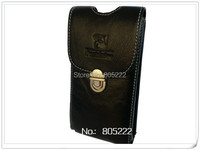 2015 New Free Shipping Genuine Flip Leather Case Pouch Holster Belt Clip Cover For Original Jiayu