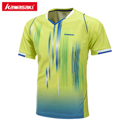 2017 newest kawasaki st 171002 men tennis shirt outdoor sports v neck quick dry breathable running.jpg 250x250