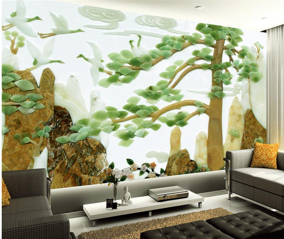 Tree Design Wallpaper Living Room Online Get Cheap Custom Wallpaper Designs Aliexpresscom