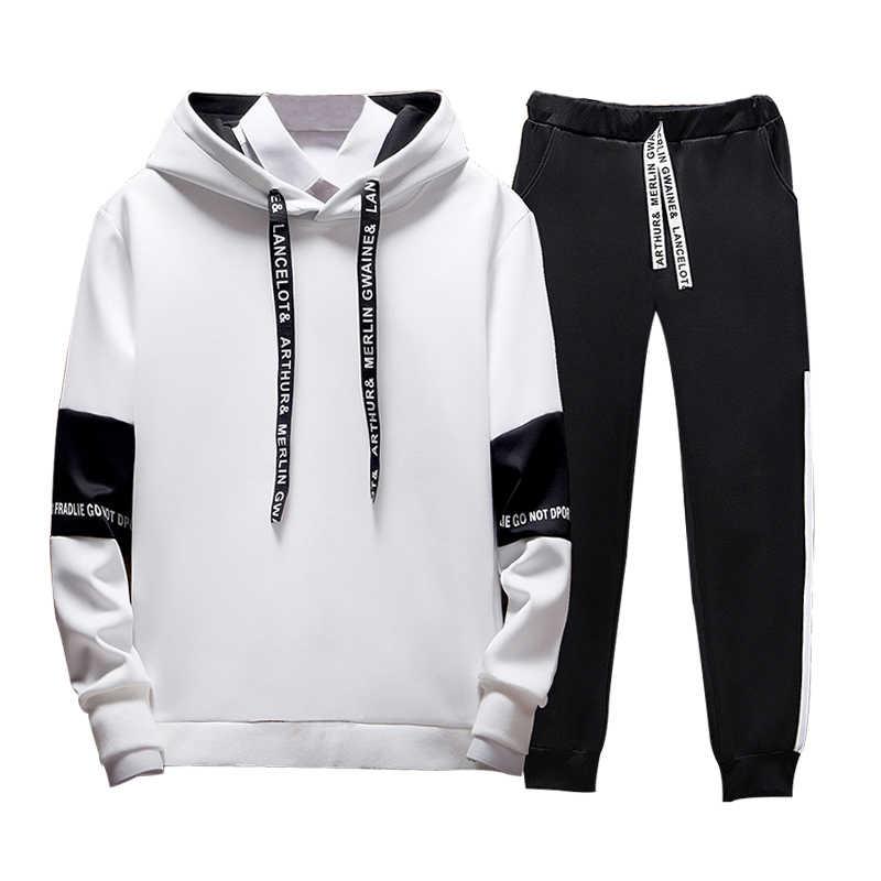 Sudadera Casual con capucha de retazos para hombre Sudadera con capucha con letras impresas Hip Hop Streetwear para hombre