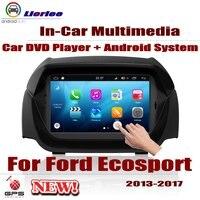 Автомобиль Радио DVD плеер gps навигации для Ford Ecosport 2013 ~ 2017 Android HD Displayer Системы Аудио Видео Стерео в тире головное устройство
