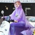 1 шт. портативные дождевики для взрослых  не одноразовая батарея  велосипедный дождевик  водонепроницаемое прозрачное пончо из ПВХ