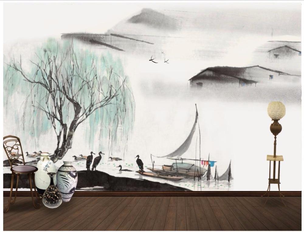 3d murales carta da parati personalizzata foto wallpaper for Carta da parati cinese