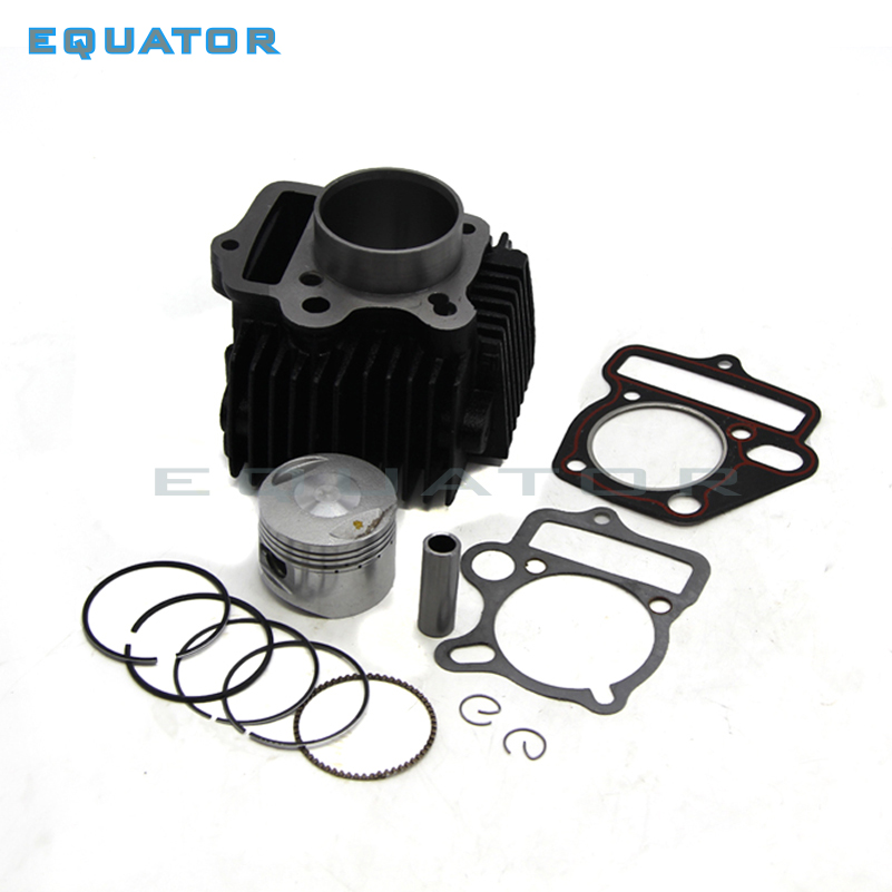 Motorcycle parts LF 125 52.4mm Piston & Rings Cylinder body Gasket Rebuild Kit Fit LIFAN 125 125CC Pit Bike 90cc cylinder body kit