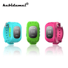 kebidumei SQ50 Anti-Lost with SIM Card GPS Smart Kids Baby Safe SOS Call Location Finder watch for Children Smart Wearable Watch(China)