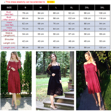 d6340cf9cb82 Robe Femme Embroidery Vintage Lace Dress Women Off Shoulder Dresses Long  Sleeve Casual Evening Party A Line ...