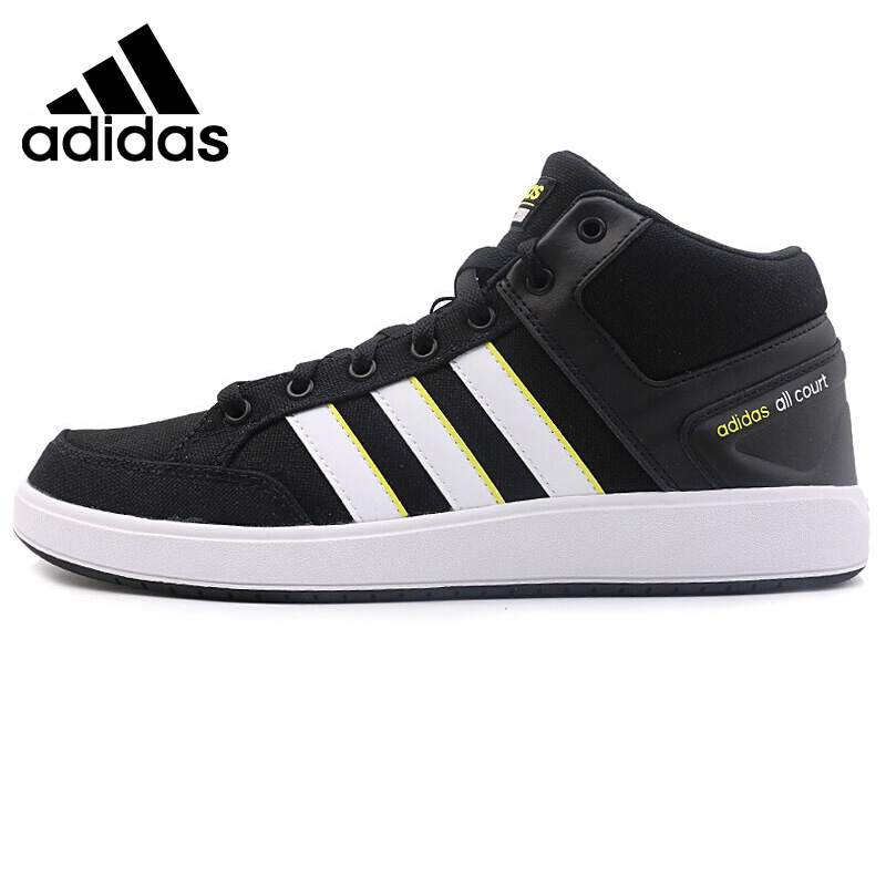 Original New Arrival  Adidas CF ALL COURT MID Men's Tennis Shoes Sneakers