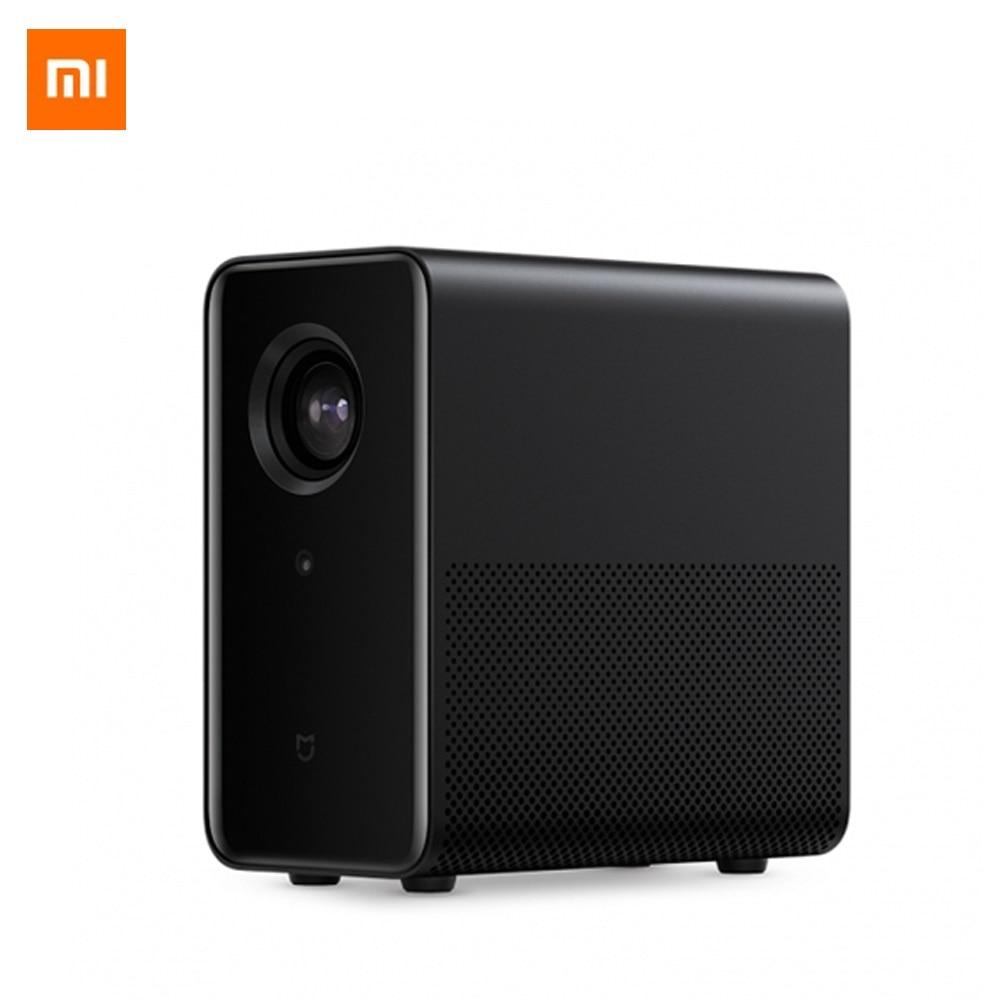 Original Xiaomi Mijia Projector 800 ANSI Lumens Android 6.0 Bluetooth 4.1 WIFI HDMI USB Support 4K Video Full HD Mini Projector