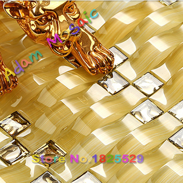 Arch shape glass tiles bathroom mirror wall tiles kitchen backsplash ...
