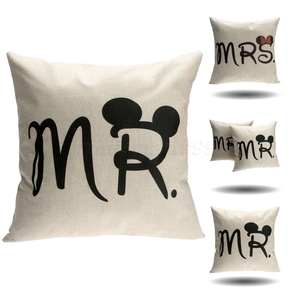 achetez en gros mickey housse de coussin en ligne des. Black Bedroom Furniture Sets. Home Design Ideas