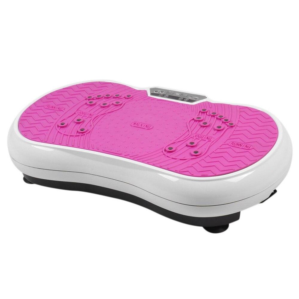 Ultrasottile Sottile di Vibrazione di Massaggio Piastra Macchina di Vibrazione Del Corpo Piattaforma di Perdita di Peso Attrezzature di Allenamento Trainer Esercizio Della Macchina