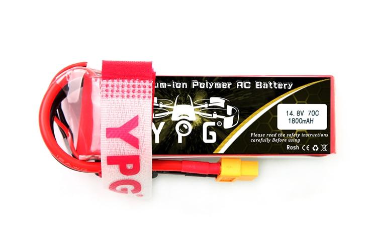 1P/2P YPG 14.8V 1800mAh 70C 4S Lipo Li-Po Lipoly High performance Battery For RC Hobby