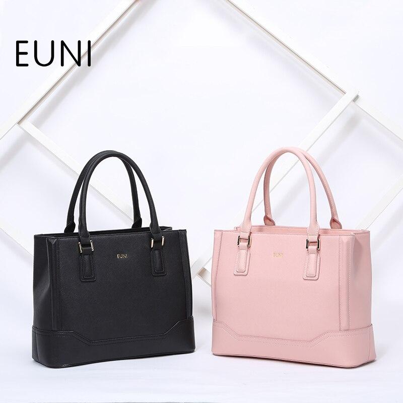 EUNI Luxury Designer Handbags High Quality Women Leather Handbags Famous Brand Ladies Leather Fashion Tote Bag Women Bag N48