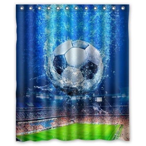 Fabric Shower Curtain Decor 36 X 72 Friendly Cute Gentle Run Freely Wildlife Animals