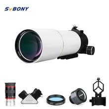 SvBony SV48 9080 90 mm F/5.6 Refractor Telescope OTA DSLR Astronomy Astronomical Telescope Professional Double Speed Focuser