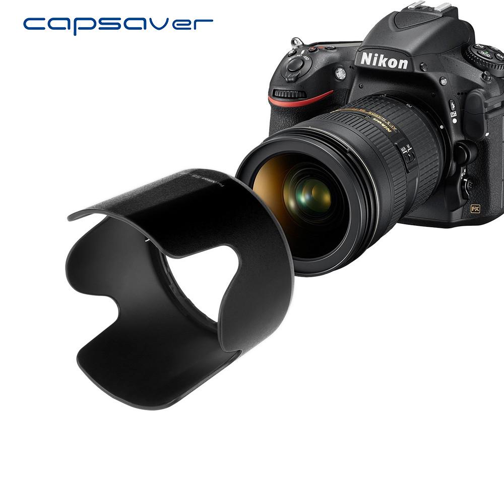 capsaver HB-29 Lens Hood for Nikon 70-0mm f/2.8 G-AF-S Bayonet Petal Lens Protector for Nikon with 2pcs Microfiber Lens Cloth 3