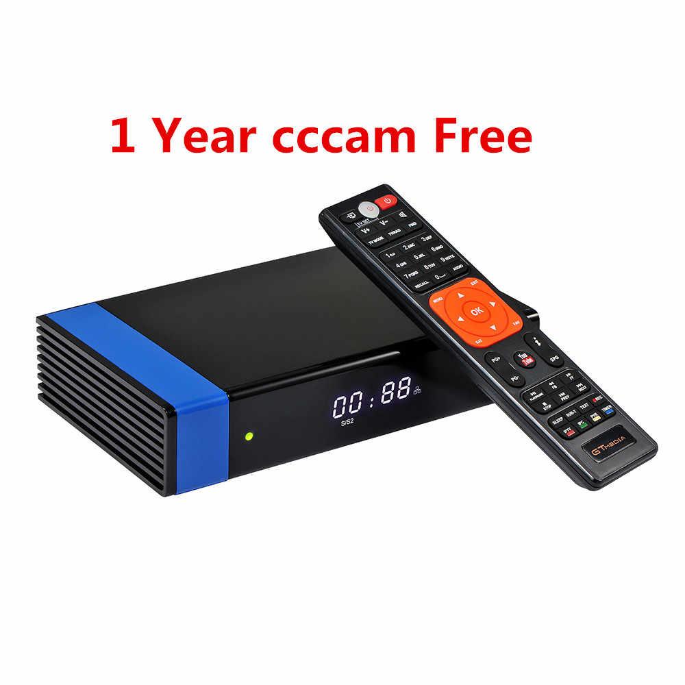 GT Media V8 Nova DVB-S2 Freesat спутниковый ресивер V8 Super H.265 wifi + 1,5 год 18 месяцев Европа Испания PT DE PO CCcam телевизионный декодер