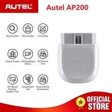 Autel AP200 Bluetooth OBD2 сканер Код читателя с полной системы диагнозы AutoVIN TPMS IMMO Услуги для Семья DIYers PK MX808