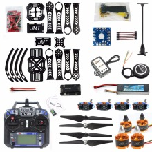 DIY RC Drone Quadrocopter 4 Aixs 360mm Frame Kit with GPS APM 2.8 Flight Control Flysky FS-i6 Transmitter RX Quadcopter F14892-B