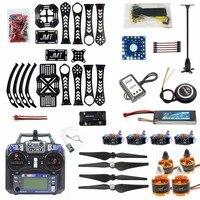 Precio DIY Drone RC Drone con giroscopio de 4 Aixs Kit de marco de 360mm con GPS APM 2,8 de Control de vuelo Flysky FS-i6 transmisor RX Quadcopter F14892-B