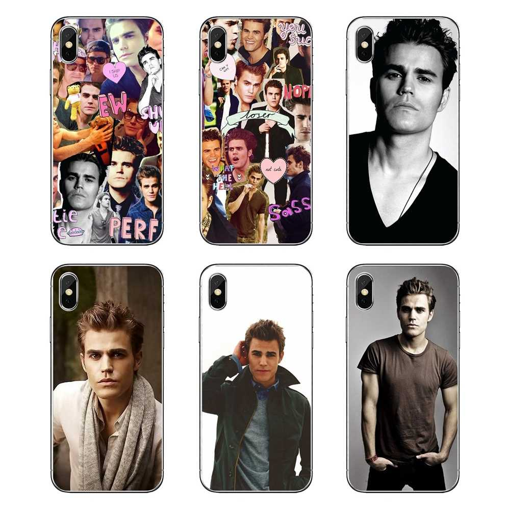 Silicone Skin Cover Paul Wesley The Vampire Diaries Collage For Huawei P20 Lite Nova 2i 3i 3 GR3 Y6 Pro Y7 Y8 Y9 Prime 2018 2019