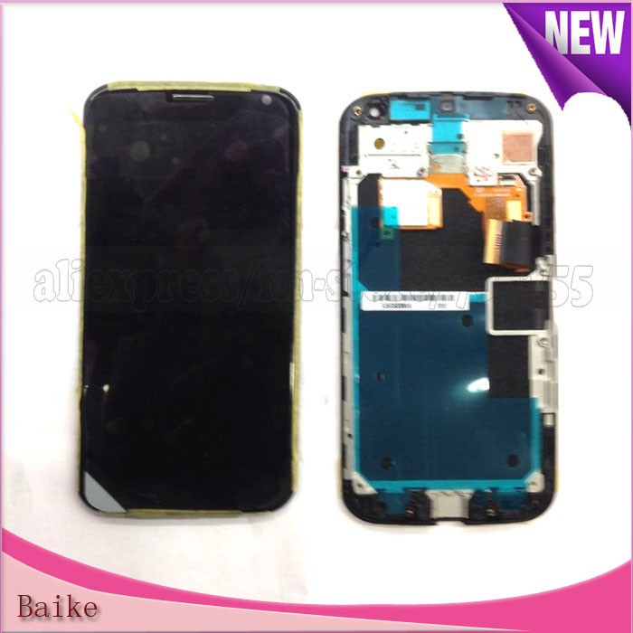 Origina Lcd Screen for Motorola Moto X XT1060 XT1058 Lcd Screen Display Touch Screen with Frame Assembly