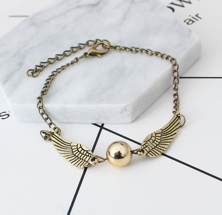 Golden Wings Bracelet