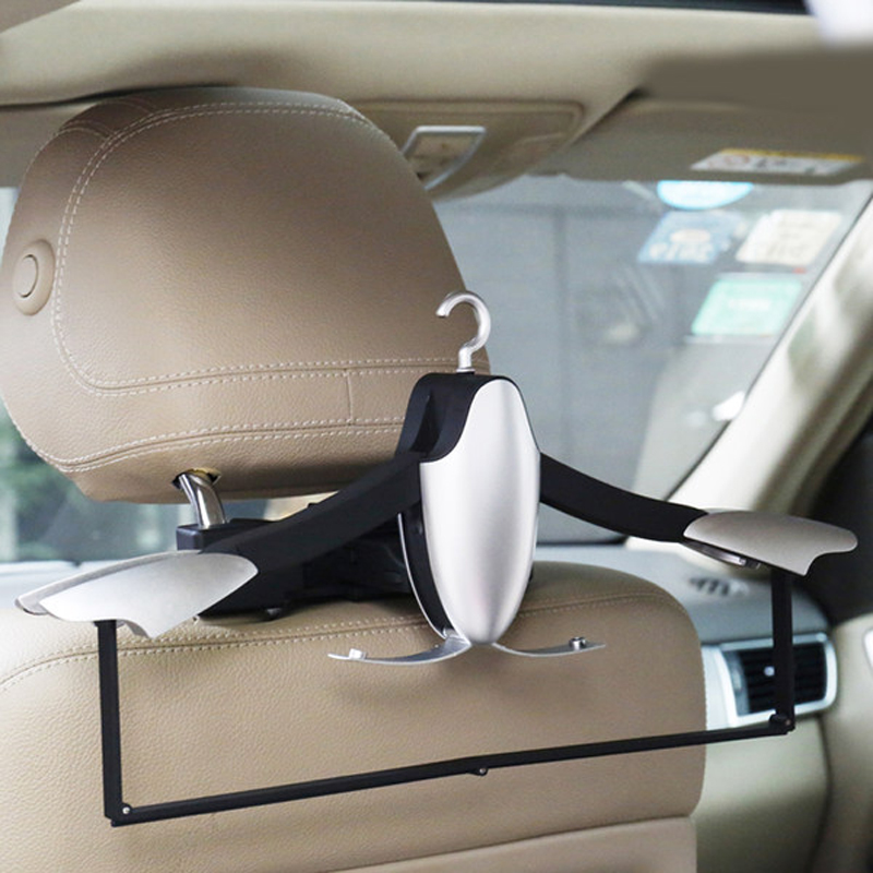 Image 4 - E FOUR Car Coat Hanger with Backseat Storage Hook for all kinds of Clothes Jackets Suits Handbags Purses Coats and Grocery Bags-in Car Coat Hanger from Automobiles & Motorcycles