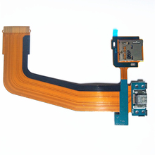 5pcs/lot USB Charging Dock Flex Cable With MicroSD Memory Card Holder For Samsung Galaxy Tab S 10.5 SM-T800 T801 T805