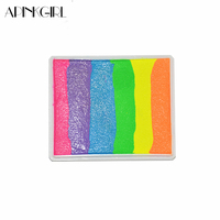 50g Set Water Based Rainbow Body Paint Color Halloween Face Painting Makeup Pigment Multicolor Series
