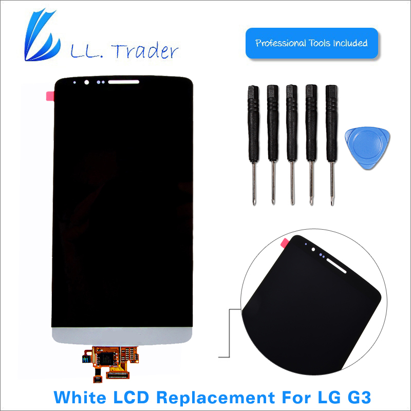 Подробнее о LL TRADER 100% Tested Highscreen White LCD Display For LG G3 LCD D855 D851 Touch Screen Digitizer Assembly Tools Free Shipping ll trader highscreen 100% tested lcd screen for sony xperia z2 lcd display d6503 touch digitizer assembly full replacement parts