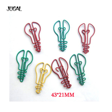 100pcs/lot creative cartoon bulb shaped clip interesting bookmark  metal paper clips crafts office supplies free shipping