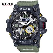 New Digital Watch Men Military Army Sport Watch Water Resistant Date Calendar LED Electronics Watches relogio masculino