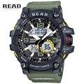 Novo Relógio Digital de Militar Do Exército Men Sport Watch Data Calendário Resistente À Água LED Eletrônica Relógios relogio masculino