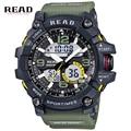 Nuevo Reloj Hombre Militar Del Ejército Del Reloj Del Deporte Digital Resistente Al Agua Fecha Calendario LED Electrónica Relojes relogio masculino