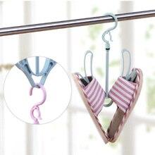 Creative Vertical Hanger Drying Shoe Rack Outdoor Balcony Hook Wind Storage