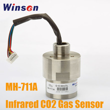 1PCS Winsen MH 711A Infrared CO2 Gas Sensor High Sensitivity and Resolution Temperature Compensation, Excellent Linear Output